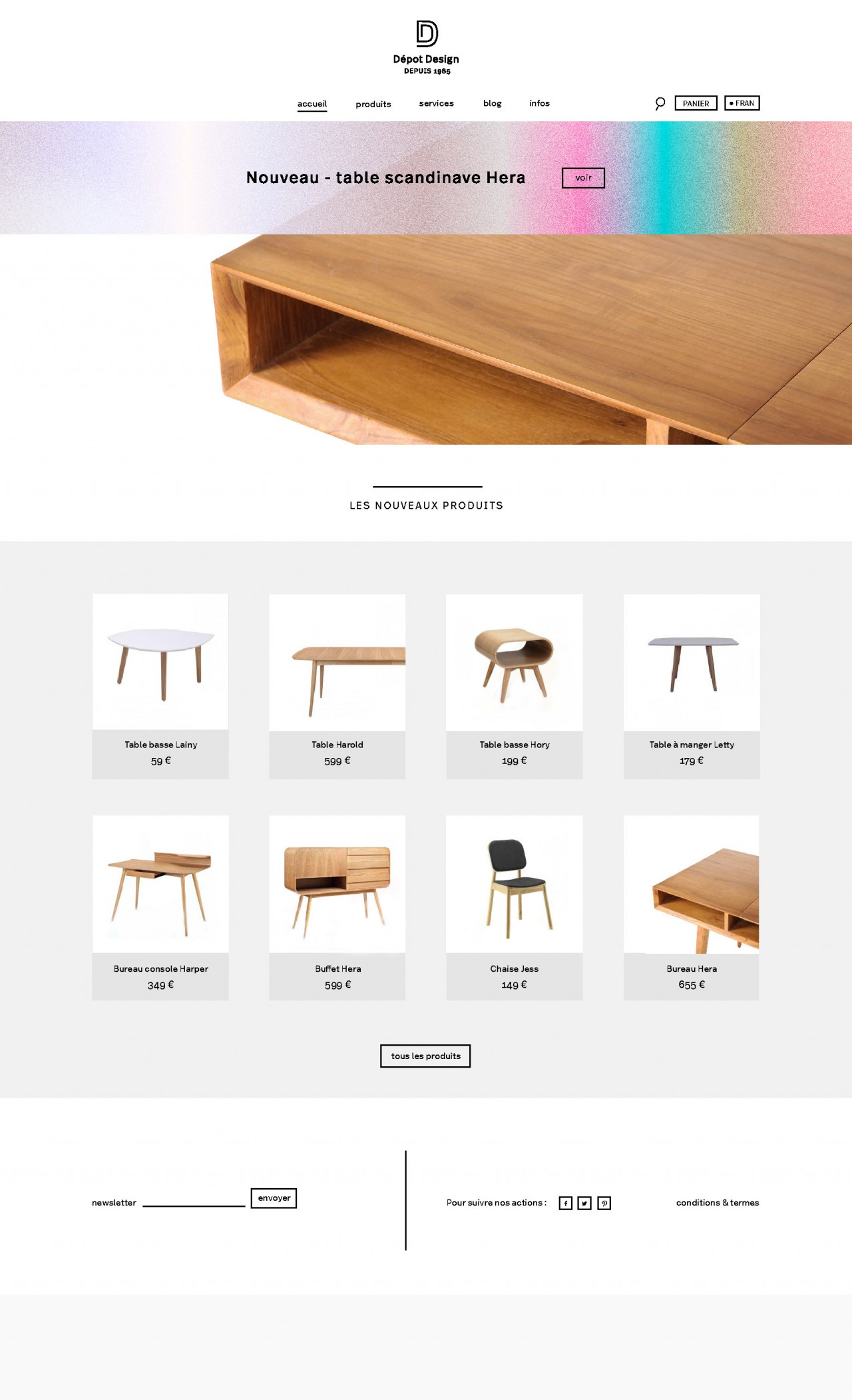 ōnō Dépot Design – design furnitures